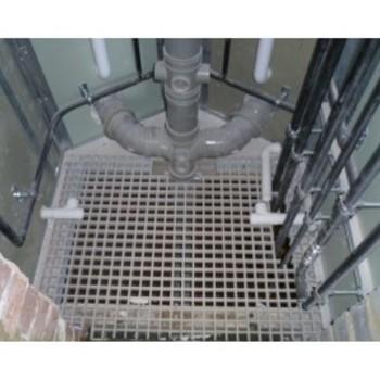 Composite riser floors