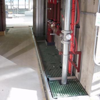 Riserdeck composite riser flooring