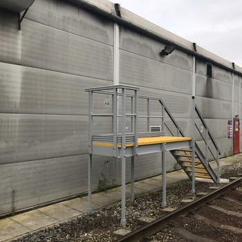 Rail anti slip grp solutions