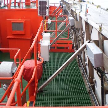 Fibreglass marine decking