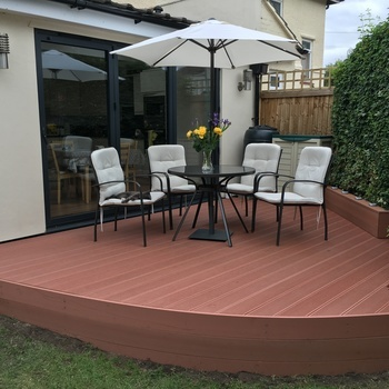 Recodeck  hollow composite decking