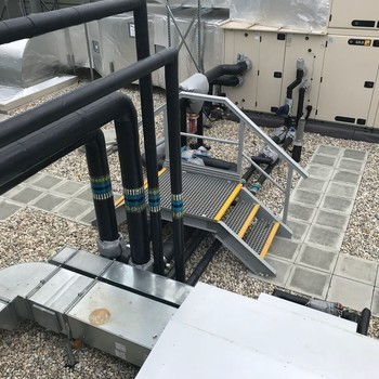 Anti slip rooftop access solutions