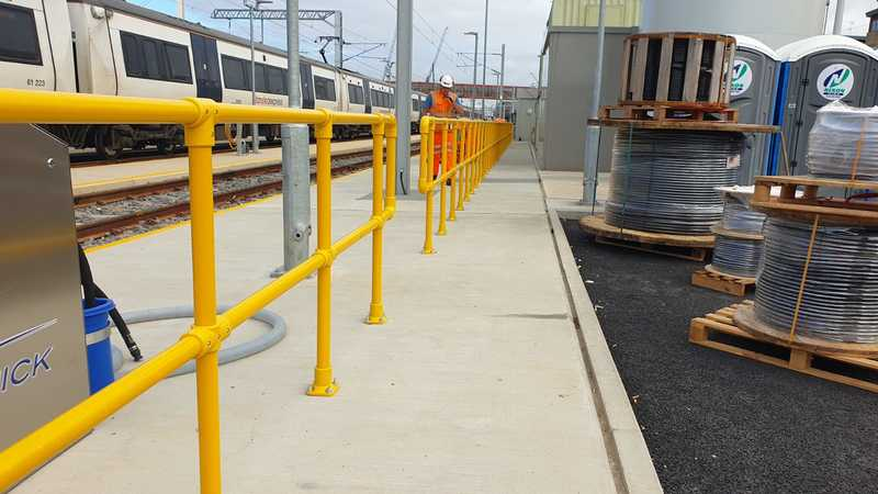 SafeClamp GRP Handrail System