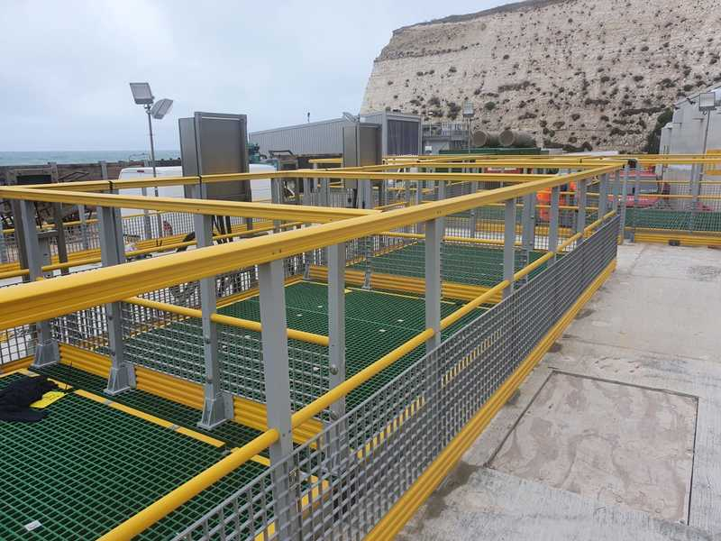 SafeRail GRP Handrail System