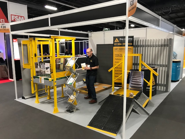 WE ATTENDED THE HEALTH & SAFETY NORTH EXHIBITION