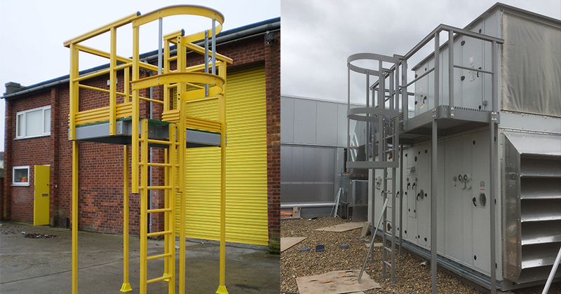 Why should I replace my existing access ladders with a GRP product?
