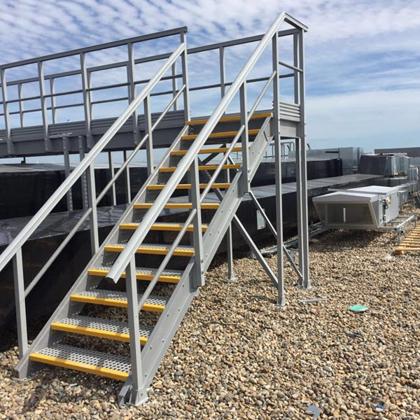 GRP Stairs and Access Platforms