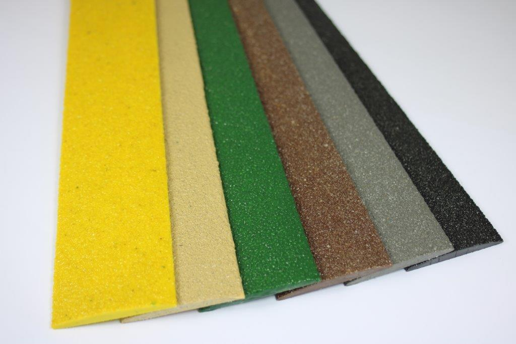 All colours decking