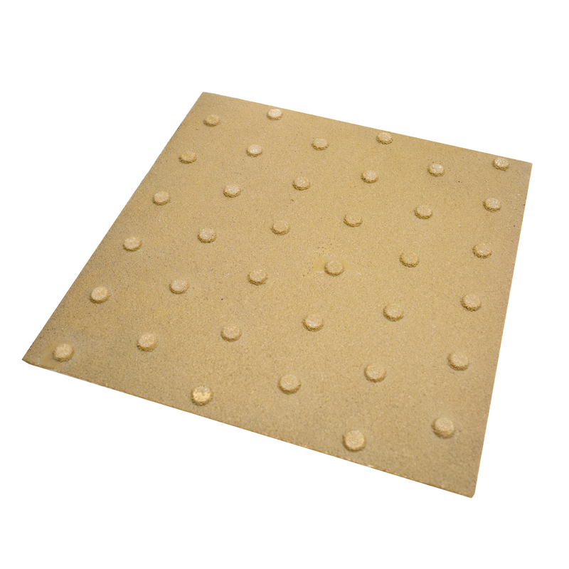 Anti slip tactile flooring